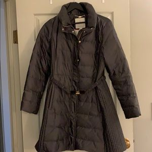 Kate spade belted puffer